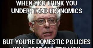 Economics Meme - young conservatives on twitter excellent meme about bernie