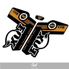 fox motocross stickers fork decals u2013 hoot print u0026 design