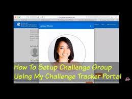Challenge Setup How To Setup Challenge Using My Challenge Tracker Portal
