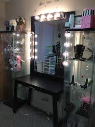 Vanity For Bedroom How Dazzling Makeup Vanities For Bedrooms With Lights Atzine Com
