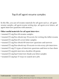 resume examples for lawyers derivatives lawyer sample resume user experience architect cover erisa attorney sample resume bag handler cover letter top8atfagentresumesamples 150527133928 lva1 app6891 thumbnail 4 erisa attorney
