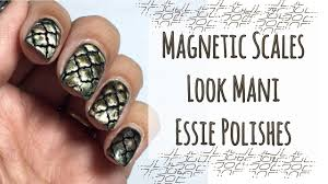 magnetic scales look mani essie youtube