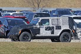 jeep scrambler blue 2018 jeep wrangler jl timeline leaked production could start in