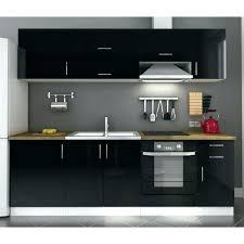 buffet de cuisine noir buffet de cuisine noir meuble cuisine noir pas cher annin info