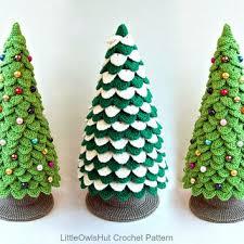 etsy crochet pattern amigurumi 009 christmas tree new year pattern from littleowlshut on etsy