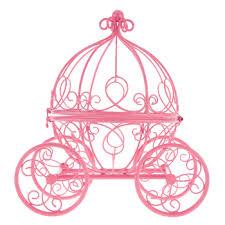 princess carriage centerpiece pink princess carriage metal decor hobby lobby 163964