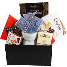 sesame easter basket lindt chocolate fondue gift basket www popbasket