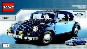 lego volkswagen beetle 10187 lego classic volkswagen beetle creator expert instruction
