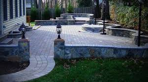 Building A Raised Patio Stone Patio Wall Ideas