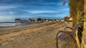 beaches sea walkway city bench beach wonderful wallpaper