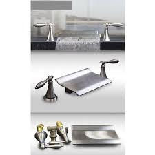 Bathroom Tub Faucets Kokols Double Handle Roman Waterfall Bath Tub Faucet Trim Lever