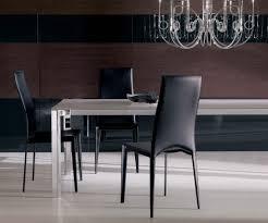 Esszimmerst Le Schwarz Leder Vivalta Ist Ein Eleganter Esszimmerstuhl Aus Italienischem