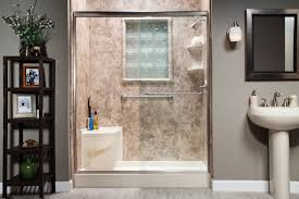 Bathroom Shower Stall Ideas by Tub Insert For Shower Stall Tub And Shower One Piece Fiberglass