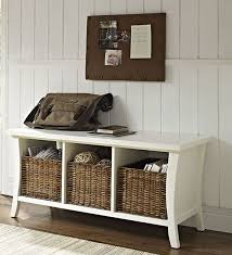 Entryway Storage by Entryway Storage Bench With Baskets