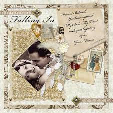 Wedding Scrapbook Page Todeka U0027s Blog Scrapbook Layout Design Wedding Theme Some Photos
