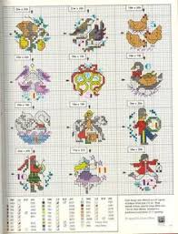 free cross stitch design 12 days of cross stitch