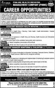 public health administration salary punjab health initiative management company phimc jobs 2017 4