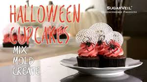 homemade halloween cake spooky diy halloween cupcakes with sugarveil youtube