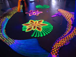 how to use black light paint exceptional black light rug 9 how to make invisible blacklight