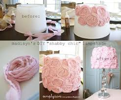 Target Simply Shabby Chic by Diy Lampshade Roses Oh La La So Cute For A Nursery Crafts