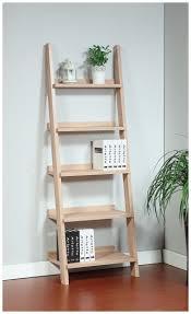 White Ladder Shelves by Shelf Design Trendy Oak Shelf Ladder Simple Furniture Shelf