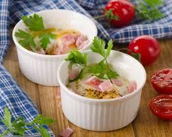 cuisine az com recette œuf cocotte au jambon à la ricotta