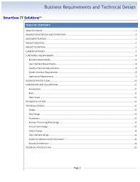 technical design specification template eliolera com