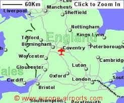 map uk coventry coventry airport cvt guide flights
