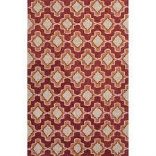 Jaipur Outdoor Rugs Rugada Jaipur Moroccan Pattern Polyester Orange