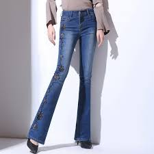Flared High Waisted Jeans Online Buy Wholesale Flared Jeans From China Flared Jeans