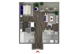 Studio Floor Plans Studio 1 U0026 2 Bedroom Apartments In Atlanta Highland Walk