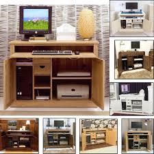 Ebay Reception Desk by Hidden Desk Ebay Computer Hideaway Home Office Study Pc Laptop