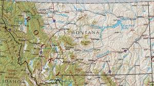A Map Of Montana by Top 10 Largest States In United States Youtube