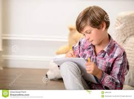 boy photo album boy drawing stock photo image of child laugher 58885786