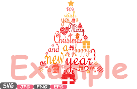 Christmas Tree Images Clipart Christmas Trees We Wish You A Merry Christmas U0026 Happy New Year