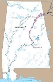 Cumberland River Map Coosa River U2013 Coosa Alabama River Improvement Assn