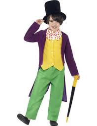 buy child roald dahl willy wonka costume from our all fancy dress