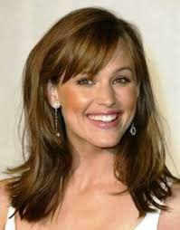 50 Wispy Medium Hairstyles Longer by Best Hairstyles For 50 With Hair Pinteres