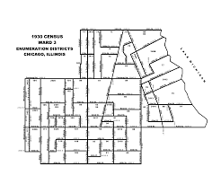 Evanston Illinois Map by 1930