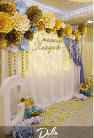 wedding backdrop name design ese diseño de flores pero sobre pared fija boda
