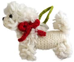bichon frise ornament chilly sweaters