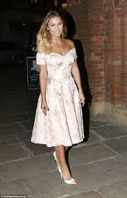 towie u0027s sam faiers retro style prom dress 2014 asda tickled