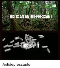 Antidepressant Meme - this is an antidepressant thisis shit antidepressants shit meme