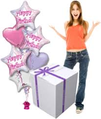send birthday balloons in a box balloon gifts delivered birthday balloons get well new baby