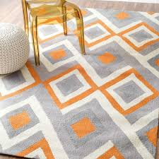 Orange And Blue Area Rug Orange And Gray Area Rug Rugs Carpets Grey Teal Thedailygraff