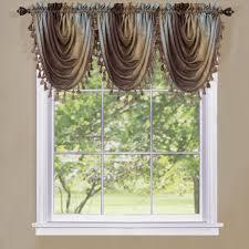 decor urnishings ombre waterfall valances window treatment ideas