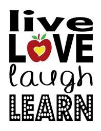 live love laugh live love laugh learn motivational poster by owly gator s market