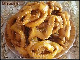 cuisine orientale pour ramadan le griwech est une pâtisserie algérienne très connu dans le pays