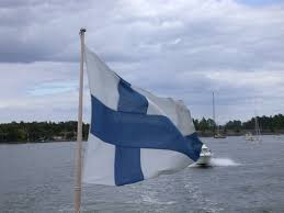 Finnish Flag My Brother The Traveler