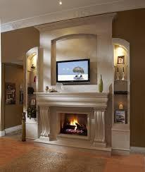 fireplace modern home interior ideas with modern fireplace